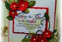 Scripture or Chrstian Cards / Handmade cards which have a bible verse  saying or Christian theme, good layout too