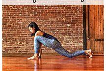Yoga & stretching .