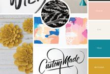 Moodboards and Collages / Moodboards. Digital Collages. Color. Style. Texture. Inspiration.