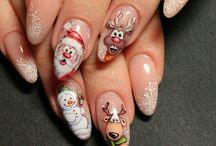 vianočné nechty