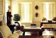 Iconic Houses:Bill Blass classic cool interiors