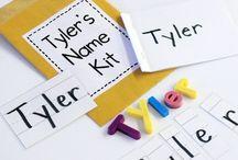 Names Kindergarten