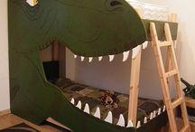 dinosaur room