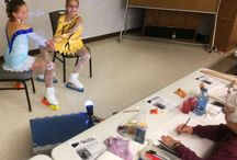 Figure Skaters - Art Workshop