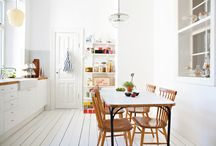 EAT IN KITCHENS / new styled eat-in kitchens