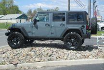 Jeep upgrades! / by Kellie Adams