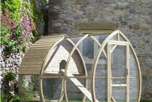 Chicken Coops / Hand Crafted range of arched Poultry Houses including Chicken Runs, Chicken Houses, Chicken Coops