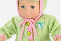 dolls knitting patterns