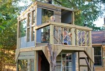 Kids Tree House  / by Kelly Cavin