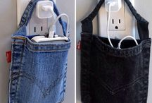 #DIY oude spijkerbroek