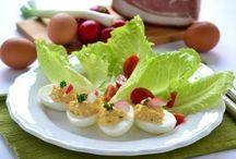 Recept - tojásételek