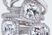 Diamonds at Every Angle / Micro pave engagement rings / by Von Bargen's Jewelry