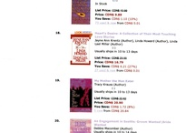 Best sellers! / some of my books have made the best seller list on amazon - here's the proof!
