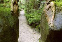 sochy na zahradu