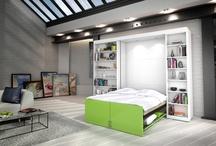 postele ve skříni