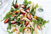 Saladas e Peixes