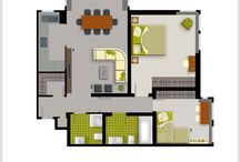 Detailed Design / Fast & easy way to get the best home interior design floor plan and 3D rendrs! Go on www.planyourplace.com and discover our proposals.