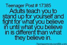 teenagers understand.