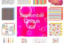 September Chique Kit / Featuring items from the Amy Tangerine Oh Happy Life collection