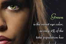 # Green eyes