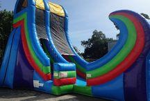 Water Slides & Slide Rentals / The slip and slide fun water slides and dry slides.