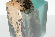 madera y recina