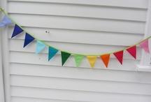 Rainbow Party inspiration / by Otilia Li