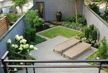 Jardin Délimiter les espaces