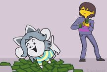 Temmie The annoying Dog brother