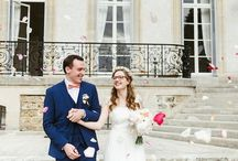 J + M // Our wedding at Château de Santeny