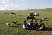 Mongolian Culture / Mongolian culture and nature.