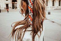 Hair scarfs