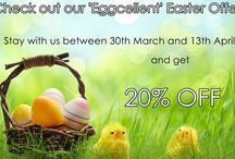 Easter Break / Stay with us between 30th March & 13th April 2015 and receive a 20% discount!