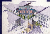 UofS Campus Sketches and Ideas / Historic sketches, models, and building proposals of University buildings and sculptures / by University of Scranton Weinberg Memorial Library