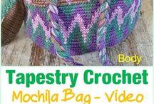 Tapestry in crochet