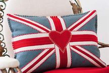 The British are Coming! / Everything crafty with the Union Jack brand attached.