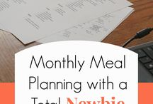 Meal Planning / by Nicole Lairson