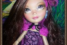 My Finished Repaints / my Finished faceups//repaints of Dolls mostly Monster high