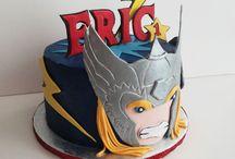 pasteles de avenger