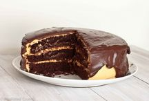 Cake / Peanut and chocolate