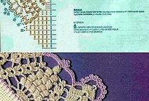 вязані серветки гачком