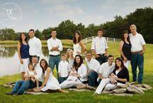 Фамильный портрет / фотография большой семьи