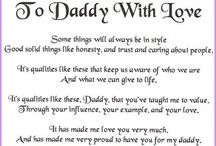 Daddy / by Hope Hite