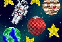 Sonnensystem - Bügelperlen