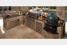 Outdoor Kitchens With BGE / Outdoor Kitchens with kamado grills