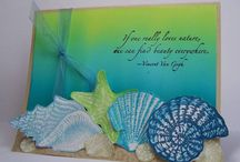 Nautical/Seaside/Ocean/Shell Cards