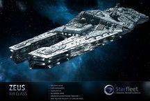 SF 1: Spacecraft, station