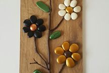 flores  en tablas