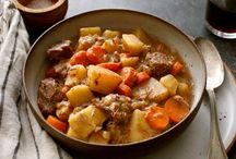 Stew and soup when it's cold