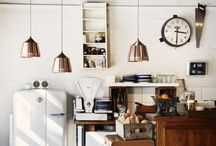 The Heart of Home / Kitchen interior design and objects
